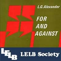 For and Against LELB Society
