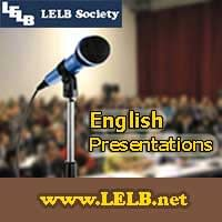 English Presentations LELB Society