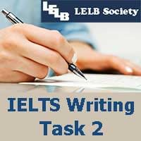 IELTS Writing Task 2 LELB Society
