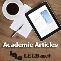Academic Articles LELB Society