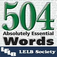 504 Absolutely Essential Words | Lesson 2
