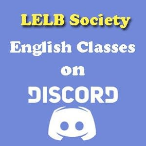 English Classes on Discord
