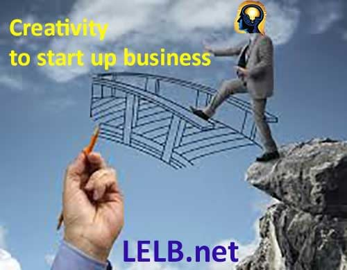 Use creativity to start up a-business